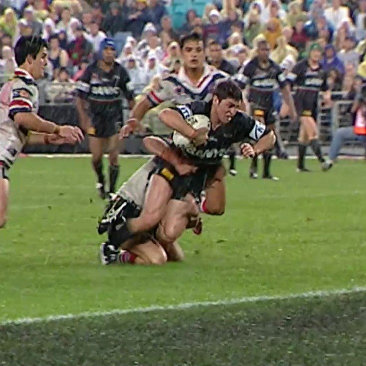 Priddis sees space close to the line