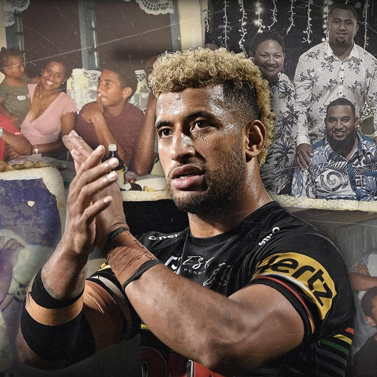 Tearful Kikau left speechless by family messages