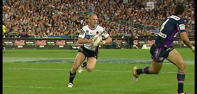 Lockyer floats across field for Hodges