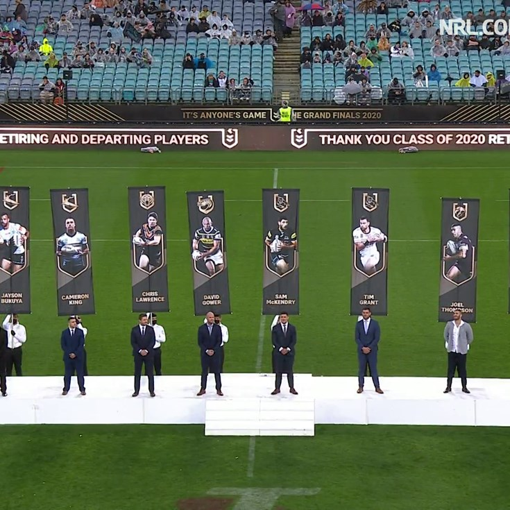 NRL honours retiring class of 2020