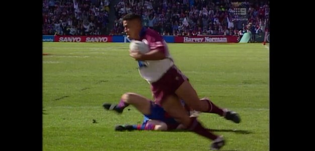 Hopoate scores first for Manly