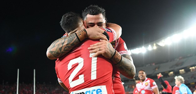 Relive the final moments of Tonga-Australia