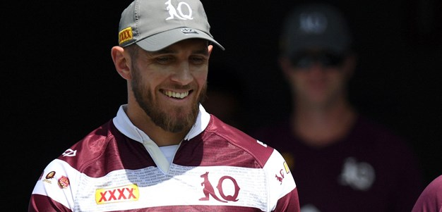 Capewell handed first Origin jersey