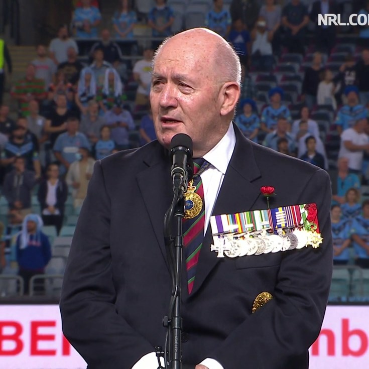 General Sir Peter Cosgrove recites The Ode