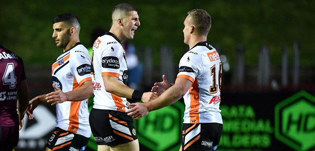 Best finishes: Doueihi stands tall for Wests Tigers