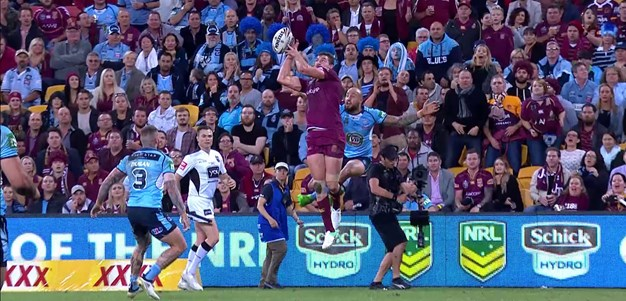 Cronk with a sublime kick for Oates