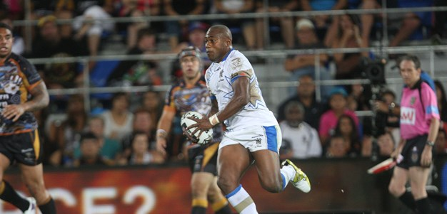 Akuila the thriller dances his way to a try