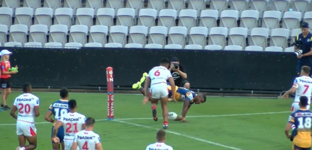 Naiduki gets another Eels' try