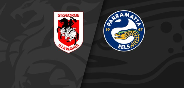 Full Match Replay: Dragons v Eels - Round 2, 2021