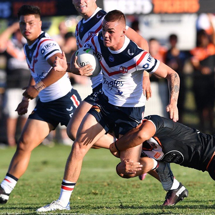 Match Highlights: Wests Tigers v Roosters