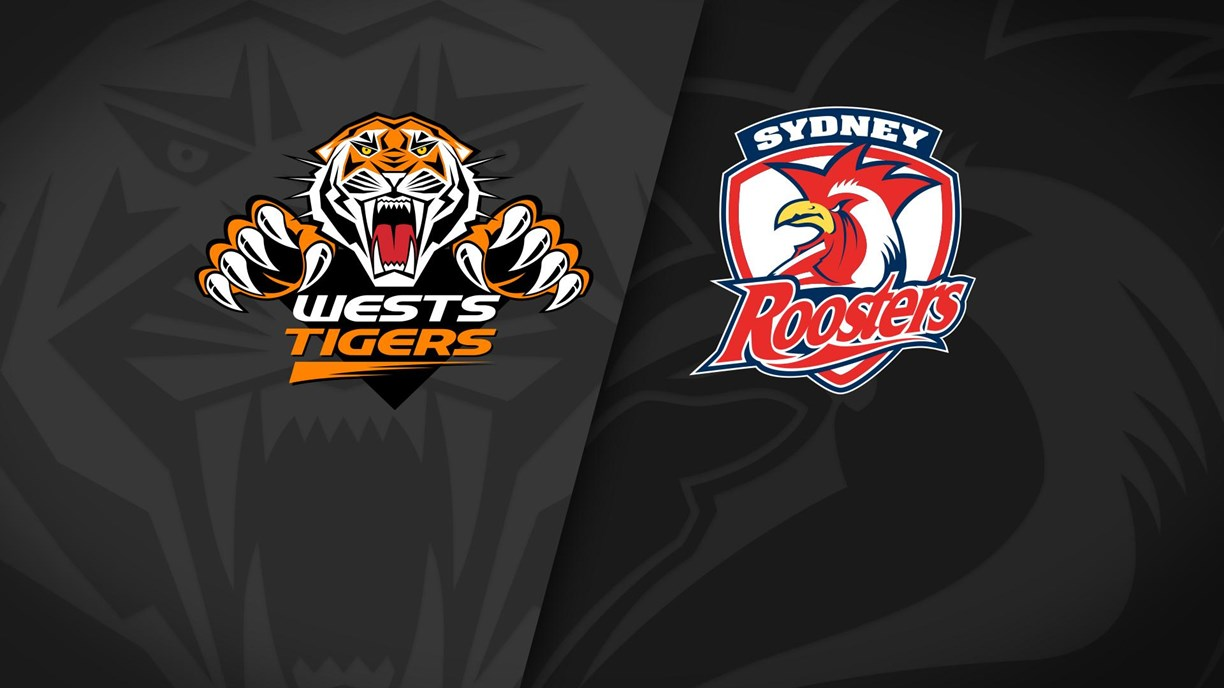 Full Match Replay: Wests Tigers v Roosters - Round 2, 2021