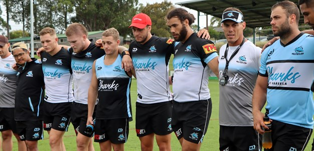 Inside the Sharks' pre-season camp