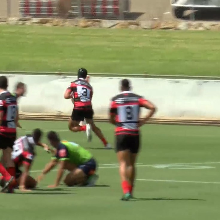 Suaalii scores the first try for the Bears
