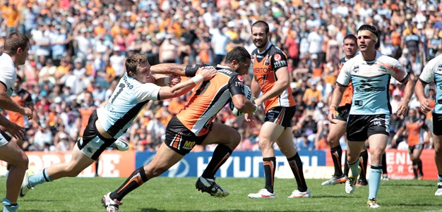 Round 1 flashback: Wests Tigers v Sharks, 2012