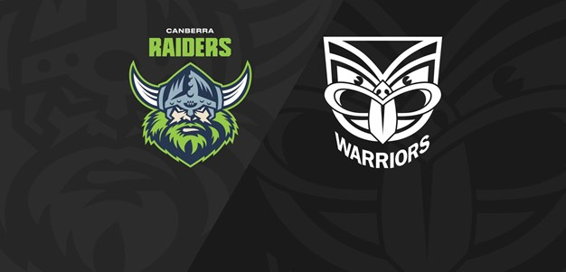 Full Match Replay: Raiders v Warriors - Round 3, 2021