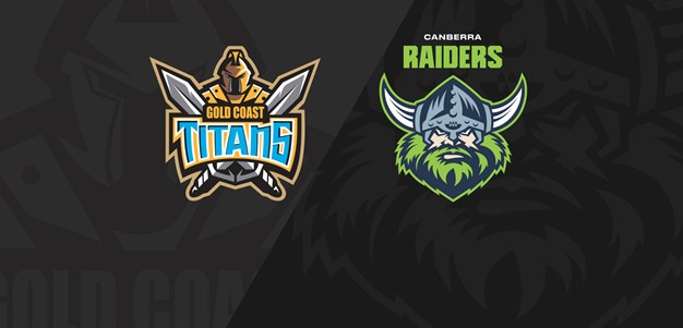 Full Match Replay: Titans v Raiders - Round 4, 2021