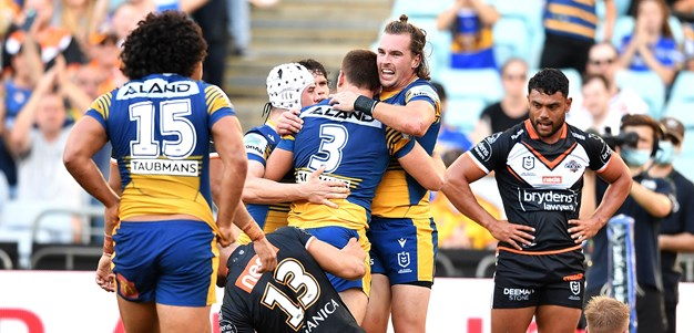 Match Highlights: Wests Tigers v Eels