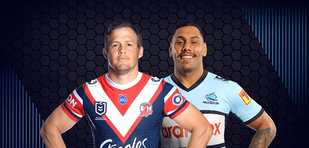 Roosters v Sharks - Round 5
