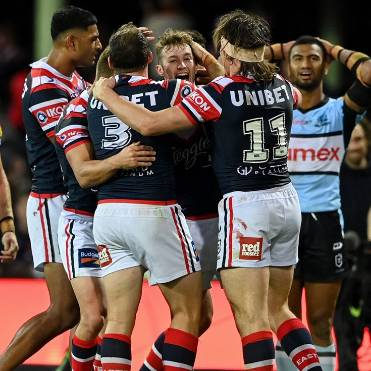 Match Highlights: Roosters v Sharks