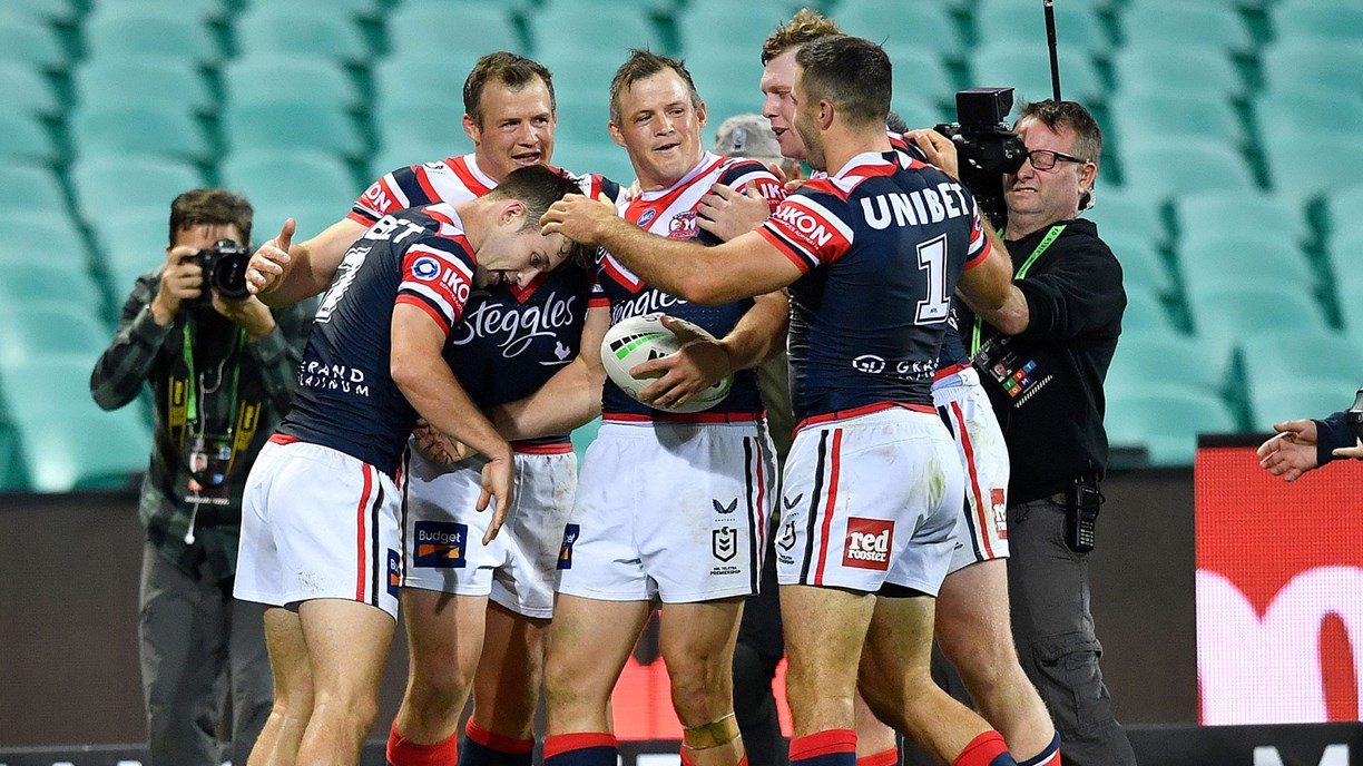 Extended Highlights: Roosters v Sharks