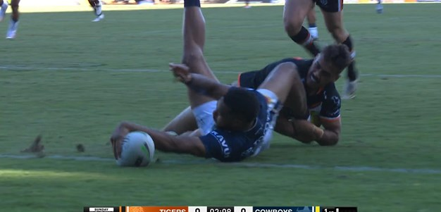 Tabuai-Fidow silences the Leichhardt crowd early