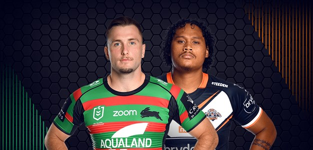 Rabbitohs v Wests Tigers - Round 6
