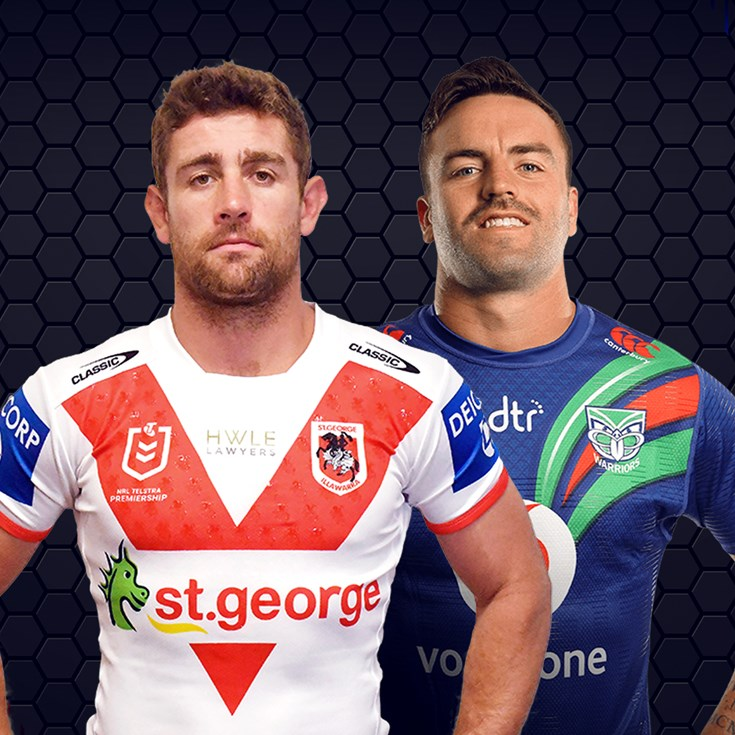 Dragons v Warriors - Round 6
