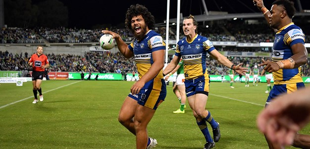 Match Highlights: Raiders v Eels