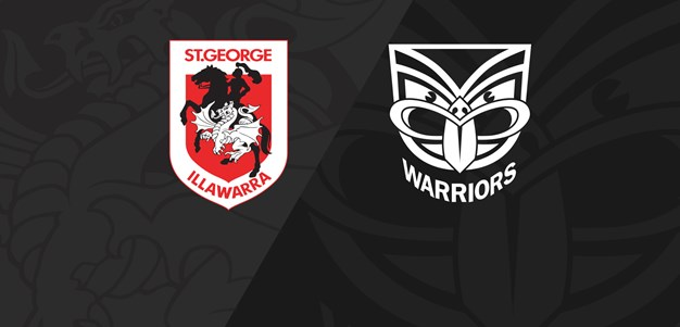 Full Match Replay: Dragons v Warriors - Round 6, 2021