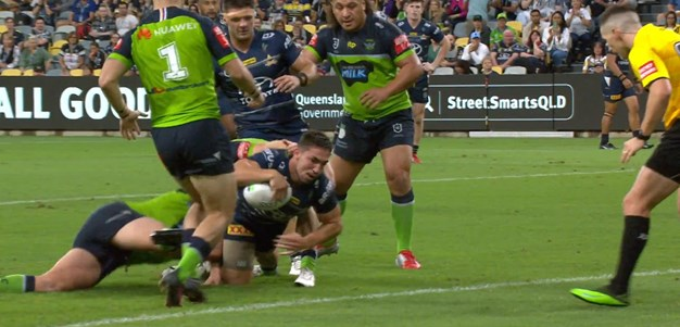 Robson try gets the Cowboys to within striking distance