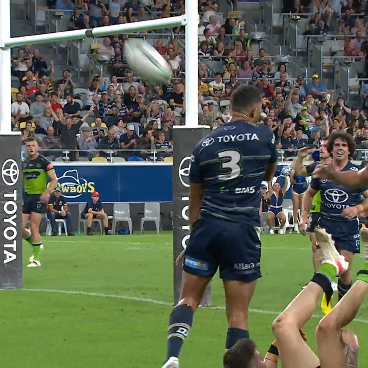 The Cowboys draw level with O'Neill try