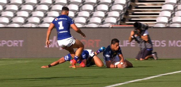 Drinkwater places a kick for Taulagi