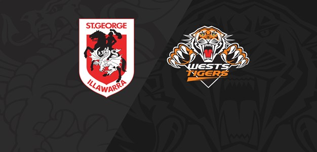 Full Match Replay: Dragons v Wests Tigers - Round 8, 2021