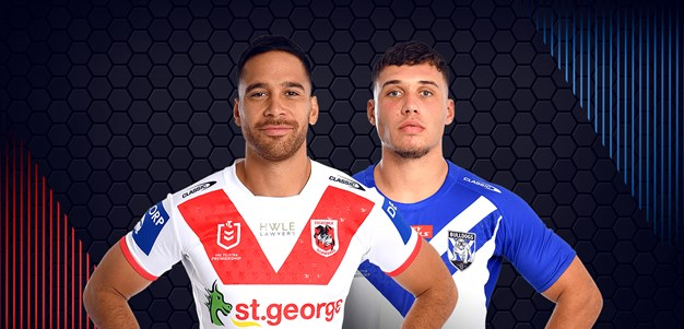 Dragons v Bulldogs - Round 9