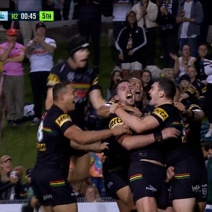 Cleary provides for Eisenhuth as the Panthers sign off in style