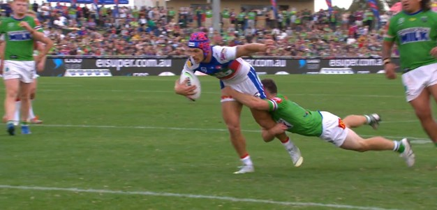 Ponga beats Starling close to the line