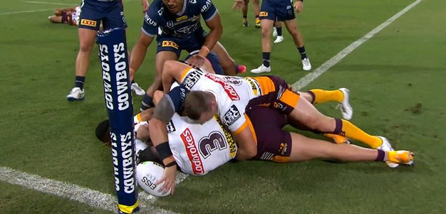 Feldt with a try you have to see to believe