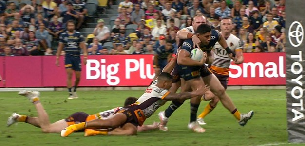 Taumalolo comes up with the big play for his side
