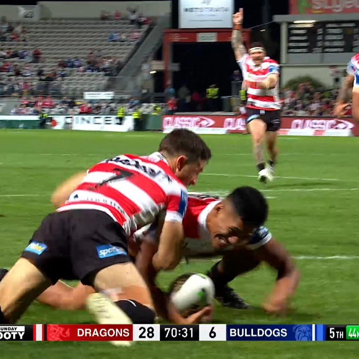 Amone gets his first NRL try