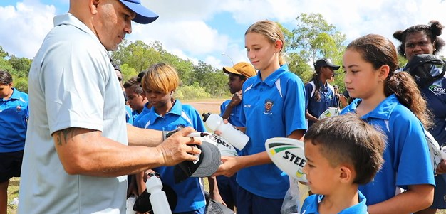Bowen brings NRL to Tiwi Islands