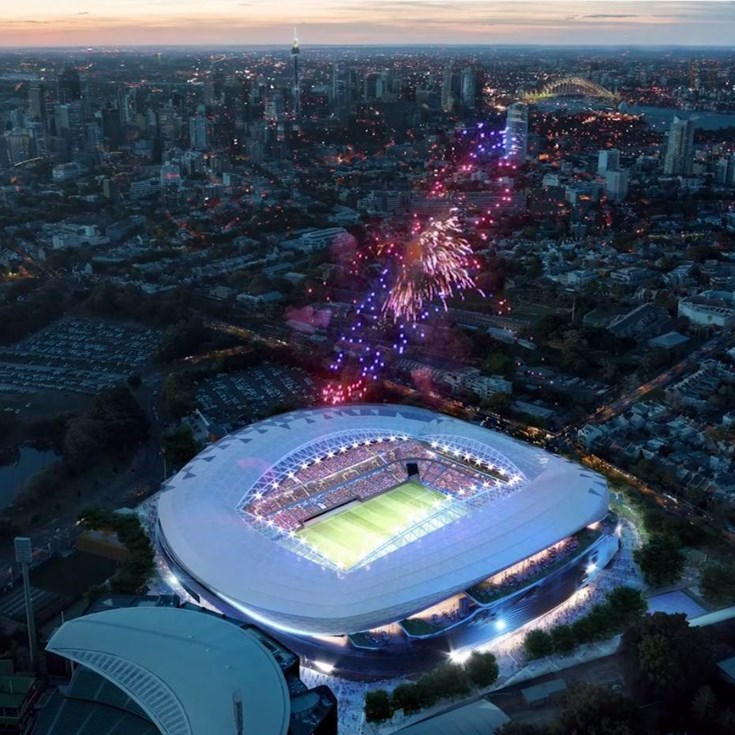 A look inside the new Sydney Football stadium