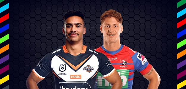 Wests Tigers v Knights – Magic Round