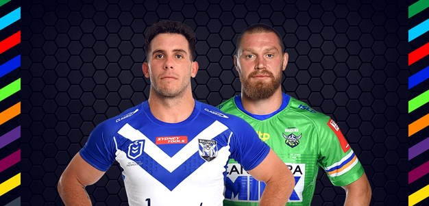 Bulldogs v Raiders - Magic Round