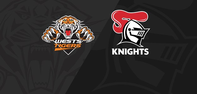 Full Match Replay: Wests Tigers v Knights - Round 10, 2021