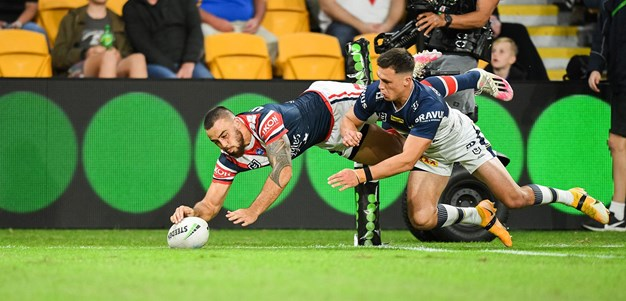 Execution perfection from the Roosters right edge