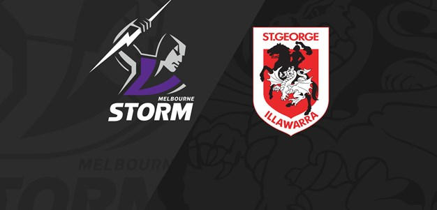 Full Match Replay: Storm v Dragons - Round 10, 2021