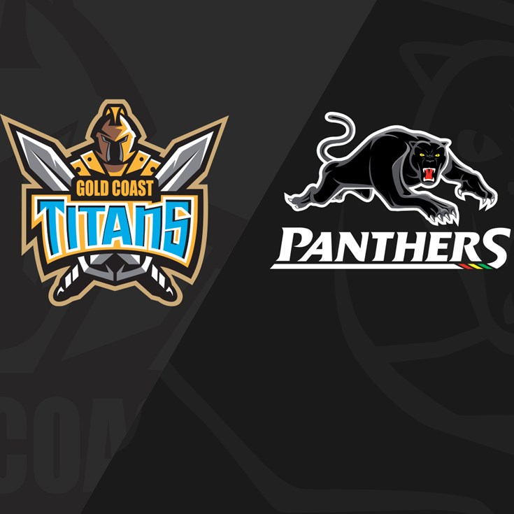 Full Match Replay: Titans v Panthers - Round 10, 2021