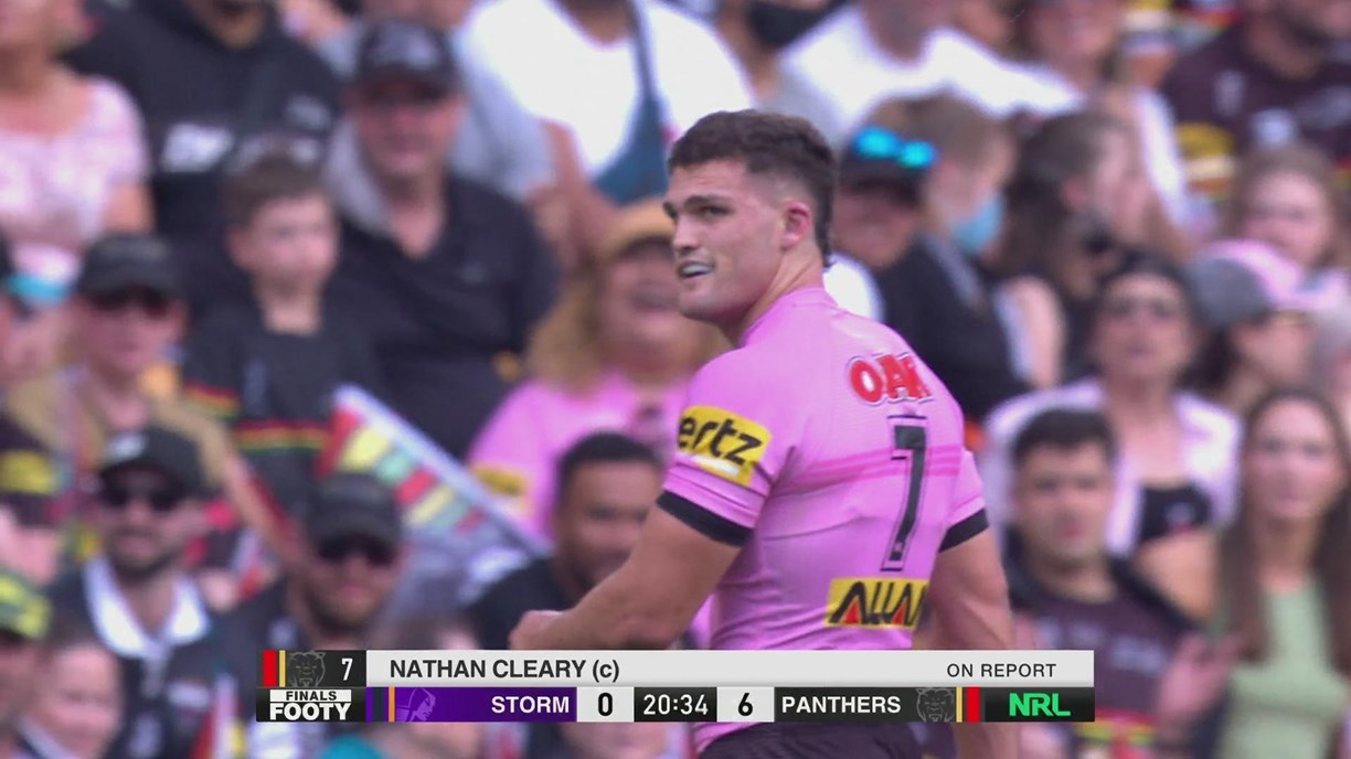 Nathan Cleary on report for dangerous tackle on Bromwich