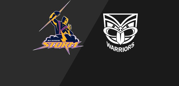 NRL Classic Storm v Warriors 2008
