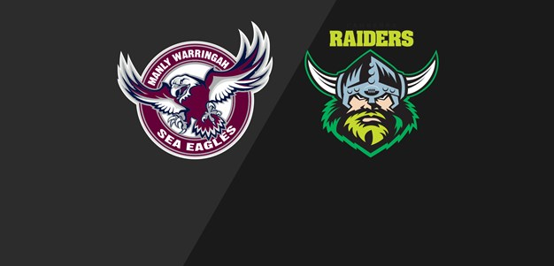 NRL Classic Sea Eagles v Raiders 2017